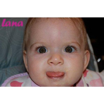 lana 13 mois